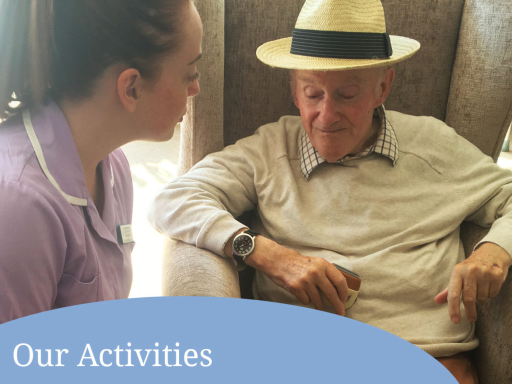activities at Parkhouse Manor Care Home