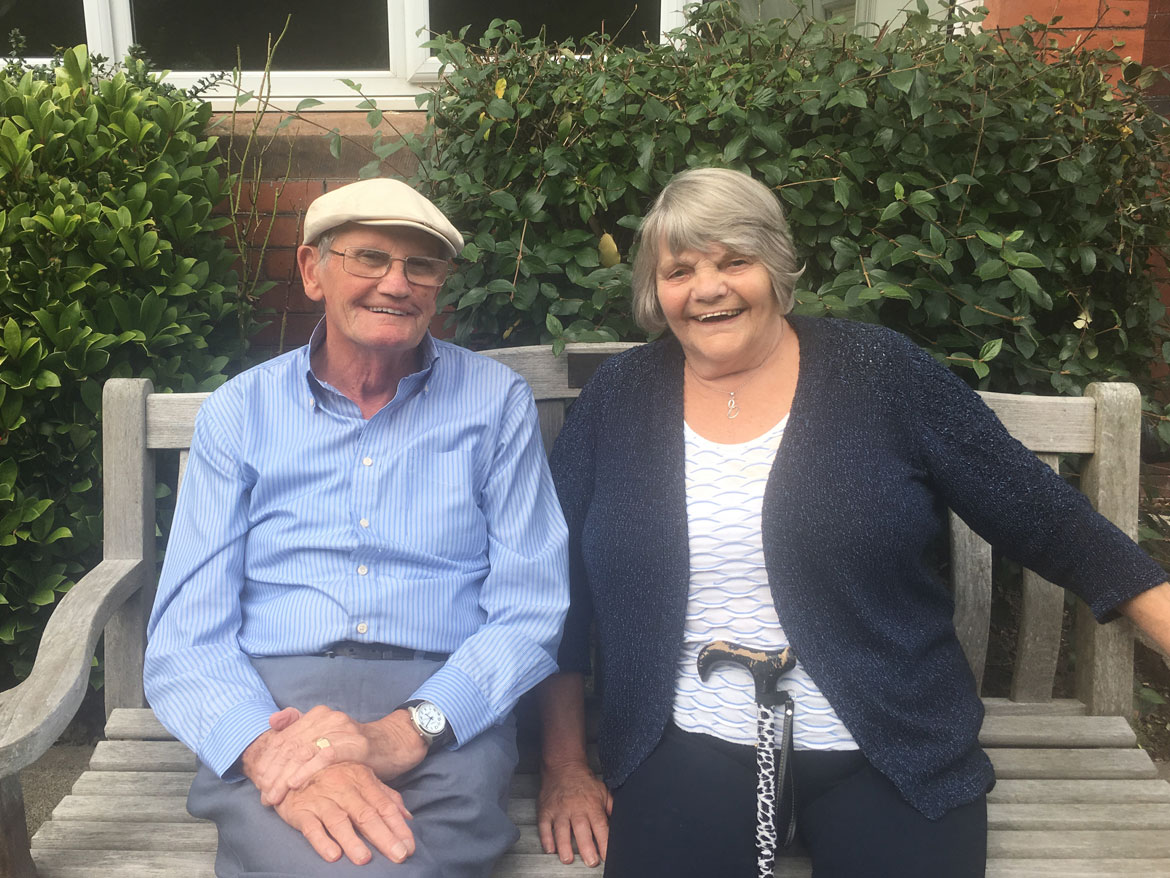 Friendly residents at Parkhouse Manor Care Home