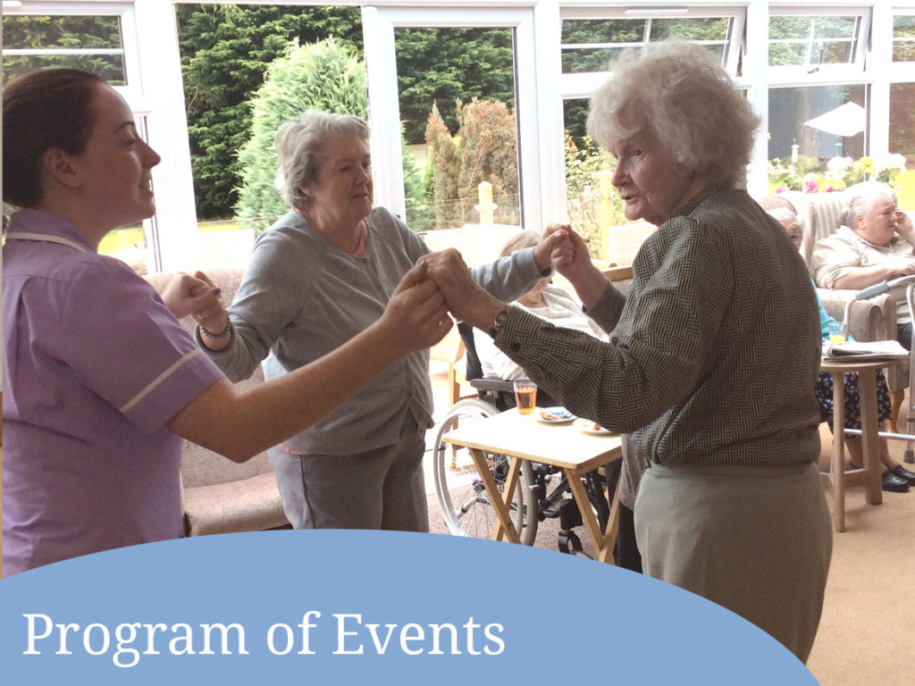 Parkhouse Manor Care Home events