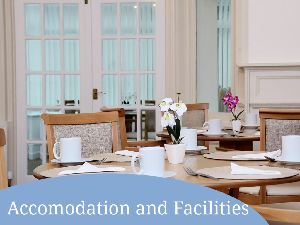Parhouse Manor Care Home facilities